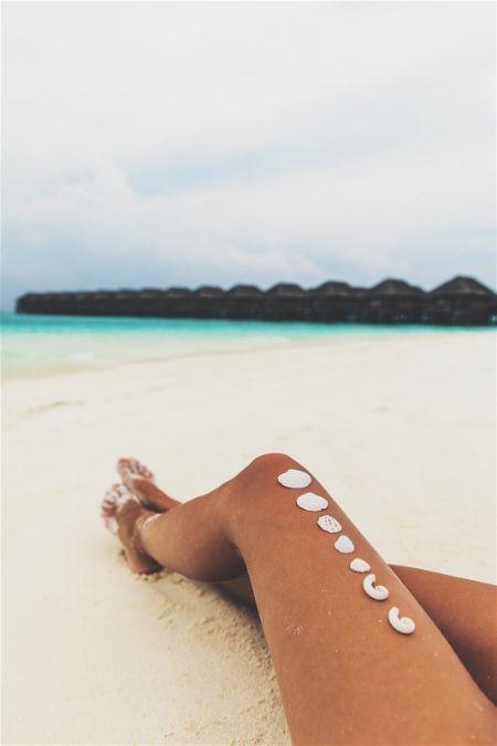 Sunbathing Legs