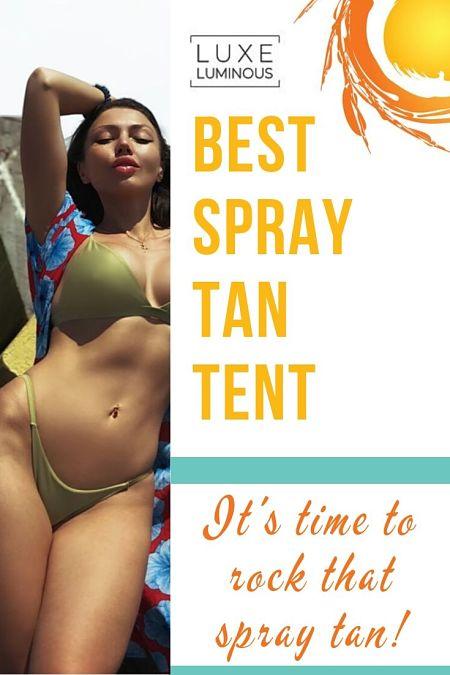 best spray tan tent