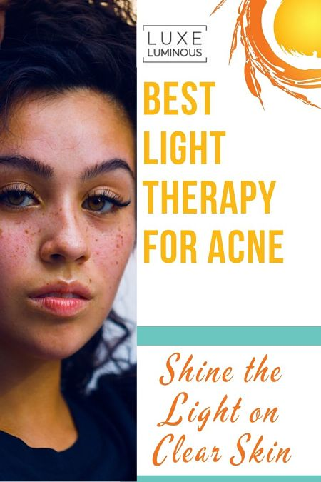 best light therapy for acne