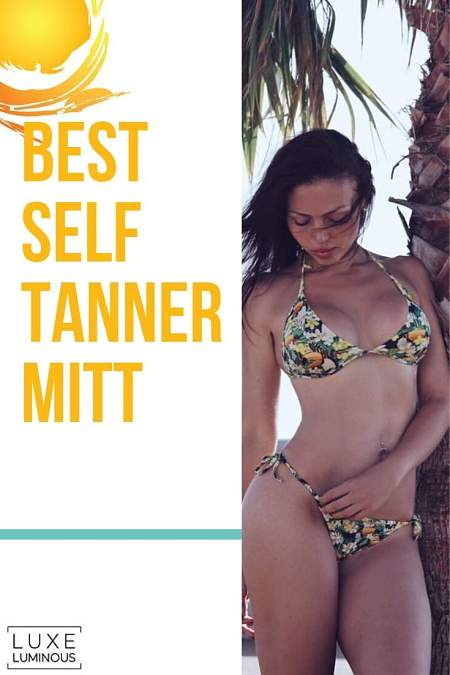 best self-tanner mitt