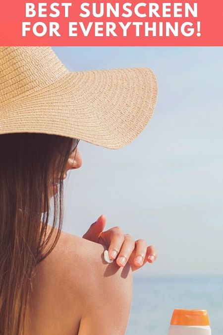 best sunscreen for everything