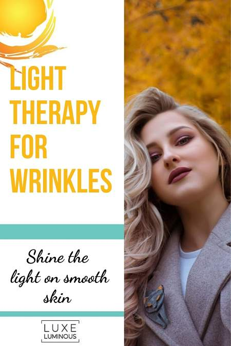 light therapy for wrinkles