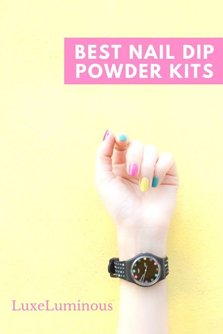 best nail dip powder kits