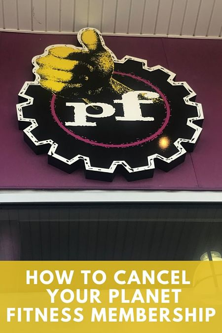 canceling planet fitness membership