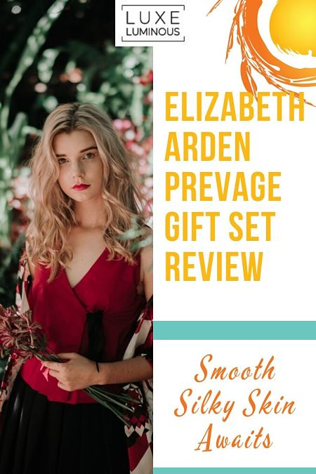 Elizabeth Arden PREVAGE Review