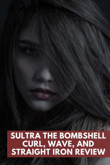 Sultra The Bombshell Curl Wave and Straight Iron Review