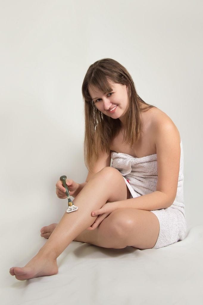 shave girl